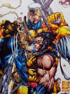 Cable e Wolverine