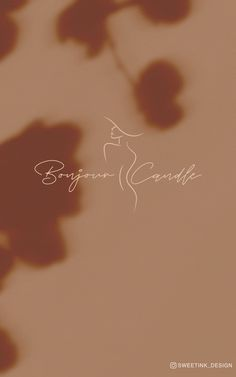 Logo for Bonjour Candle @bonjourcandle - Create a Custom logo for your small business! #womanSilhouette #logo #logodesign #minimalist #graphicdesign #branding #candle #candlelogo #venuslogo #venus #smallbusiness Letterpress Business Cards, Business Branding, Logo Branding, Candle Logo, Candle Branding, Custom Logo Design, Custom Logos, Nail Logo, Minimalist Beauty