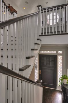Freestone Residence traditional staircase