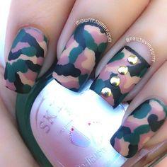 Instagram photo by nailsbymiawrrr  #nail #nails #nailart