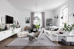 Gravity Home : Best of Living Rooms Here are my favourites. Living Dining Room, Home And Living, Home Living Room, Apartment Decor, Home, Interior Design Living Room, Interior, Small Apartment Decorating, Room Interior
