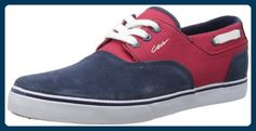 C1RCA VALEO CVALEOBLRT Unisex-Erwachsene Sneaker, Blau (Blue/Red Twill), EU 43 (US 10) - Sneakers für frauen (*Partner-Link)