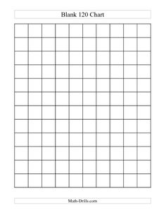 120 Chart on Pinterest | Hundreds Chart, Math Coach and First Grade ...