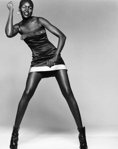 Khoudia Diop Charcoal Black African Model Who Doesn't Believe In Bleaching - Celebrities (6) - Nigeria