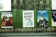 1977  - Odd Poster, Edinburgh, Scotland