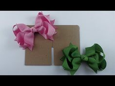 Laço de Fita de Gorgurão Ou Cetim Decorado com Manta de Strass - DIY RIBBON HAIR BOW - YouTube