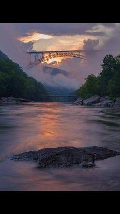 New River gorge bridge,West Virginia