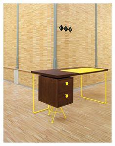 Стол для домашнего кабинета #Home_Office #Furniture #Table: