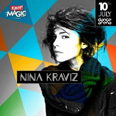 Techno royalty #NinaKraviz has joined the #ExitFestival 2016 line up!