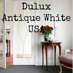 SRBliss – My all time top 5 favourite white paints Wall Colors, House Colors, Paint Colours, Antique White Usa, Wall Trim, House Paint Exterior, Interior Paint Colors, White Trim, Inspired Homes