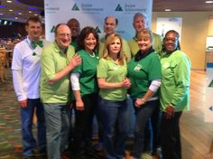 Virginia Lottery bowls for Junior Achievement of Central Virginia! #JACV #BowlfortheGreen