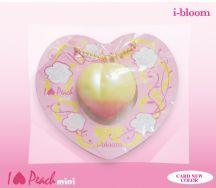 *i-Bloom* Japan Kawaii Rare Mini Peach Squishy Gold Yellow IN STOCK