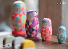Geometric Russian dolls