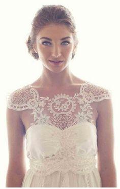 Renda-se. vestido de noiva