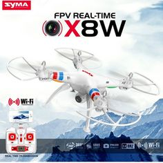 97.79$  Buy now - http://aliilf.worldwells.pw/go.php?t=32740117089 - Quadcopter RC Remote Control Helicopter SYMA X8W 6-Axis  Drones With Camera HD WIFI Or Without Camera For Child Chirtsmas Gift 97.79$
