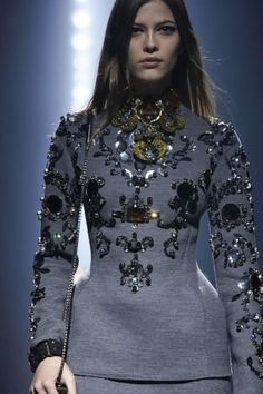 Another Lanvin embellished tunic...love