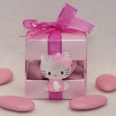 Dragées Hello Kitty baptême - dragées Massardier