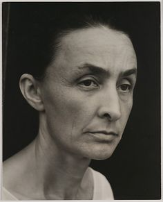 """//...Alfred Stieglitz...// Georgia O'Keeffe, 1932.  """"I've been absolutely terrified every moment of my life - and I've never let it keep me from doing a single thing I wanted to do""""  - Georgia O'Keeffe"""