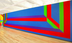 Sol LeWitt / 'Wall Drawing #1042 ,' 2002, MASS MoCA