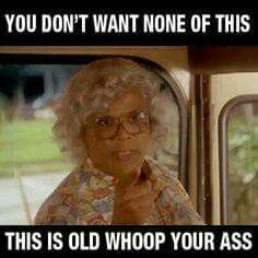 Here is a list of our top 5 favorite Madea movie/ Tyler Perry quotes. Over the years Madea has been known to say some crazy things, most of them really funny. Which one is your favorite? Madea Humor, Madea Funny Quotes, Sarcastic Quotes, Movie Quotes, Funny Jokes, Funny Minion, Humor Quotes, Funny As Hell, Funny Cute