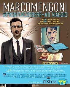 Il cd#PRONTOACORRERE e il Dvd #IlViaggio di Mengoni in edicola con Tv Sorrisi e Canzoni e Tu Style
