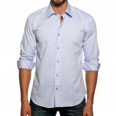 Jared Lang, Dress Shirt style # AVE8WOOO | TEMPTBRANDS #blue