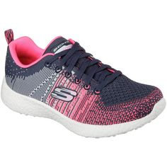 Skechers Burst Ellipse Womens Sneakers ($70) ❤ liked on Polyvore featuring  shoes, sneakers
