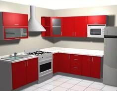 diseño  de cocinas por computadora en 3d y foto realista