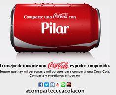 Yeray podrá tener la lata de #CocaCola con su nombre #marketing