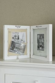 Rivièra Maison photo frame with memory pin board. Double Frame, Sweet Home, Memories, Interior, Happy, Decor Ideas, Gift Ideas, Home Decor, Board
