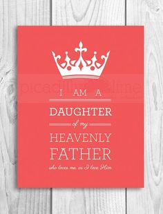 Daughter of God :)