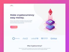 Crypto Landing Page designed by Manoj Rajput for Mindinventory. Connect with them on Dribbble; the global community for designers and creative professionals. Web Dashboard, Dashboard Design, Mobile Design, App Design, Smart Home Design, Expense Tracker, Show And Tell, Lorem Ipsum, Landing
