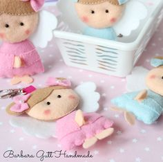 Barbara Handmade...: Aniołki / Angels