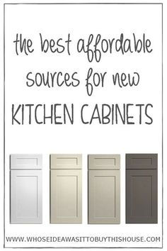 Superb Writer Says: We Didnu0027t Have A Lot Of Money To Spend On Our Kitchen  Renovation, So We Figured Out The Best Affordable Places To Buy New Kitchen  Cabinets!