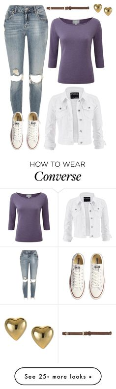 """Untitled #9425"" by beatrizibelo on Polyvore featuring River Island, Converse, maurices, Pure Collection and Dorothy Perkins"