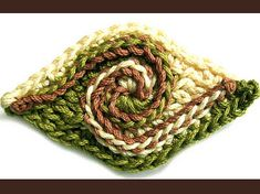 freeform crochet spiral by freeform by prudence, via Flickr