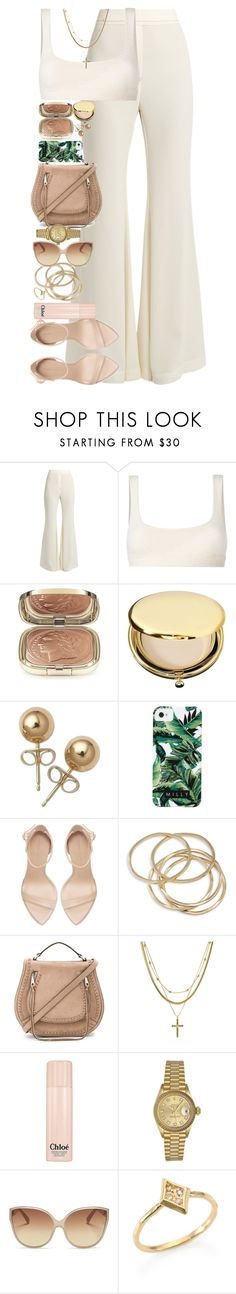 """""""We need much less than we think we need."""" by quiche ❤ liked on Polyvore featuring E L L E R Y, Yeezy by Kanye West, Dolce&Gabbana, Estée Lauder, Bling Jewelry, Milly, Zara, ABS by Allen Schwartz, Rebecca Minkoff and Luv Aj"""
