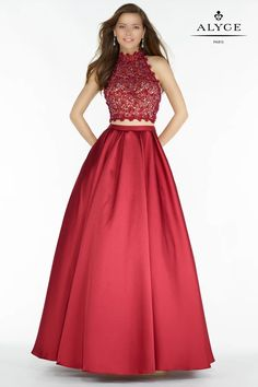 Designer prom dresses from Alyce, Faviana, La Femme, Tiffany Designs, Jovani, Karishma Creations, and more.