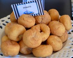 Police Birthday Party Food Ideas - Donuts