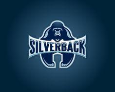 #logo #creative #design #silverback #silver #gorilla