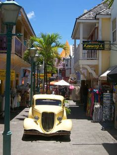 Philipsburg St Maarten.  We started our honeymoon cruise from St Maarten!  Beautiful place.