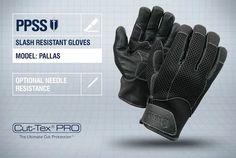 PPSS #SlashResistantGloves (Pallas) with optional #needleresistance