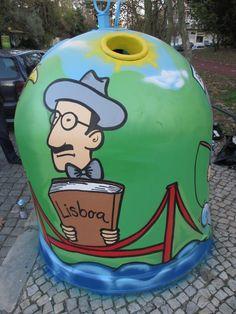 Street Art. Fernando Pessoa | Lisbon, Portugal