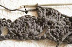 wavy crochet * tutorial