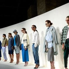 J CREW SPRING SUMMER 2015 NEW YORK  #jcrew #NYFW #SS15 #shadesoriginators #illesteva