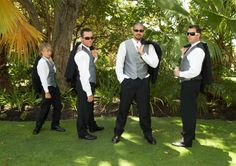 groomsmen photos | No Jumping . You look like a rapist.