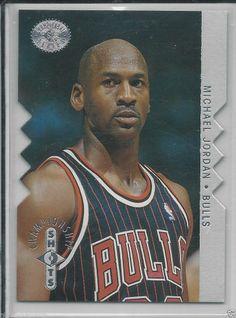 1996 Upper Deck SP Michael Jordan Championship Shots Silver Die Cut # S16 #ChicagoBulls