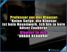 Manche Klausuren sind einfach zu fies x.x #Schulleben #Studentenleben #Prüfung #Potterliebe #Memes
