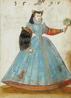 from Album Amicorum of a German Soldier, 1595