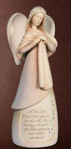 Enesco Foundations Healing Angel Figurine, 9-1/2-Inch Enesco Gift,http://www.amazon.com/dp/B00354OIC4/ref=cm_sw_r_pi_dp_099htb0Y81HJ286T